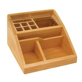 Köcher BAMBUS schräg natur Holz Wedo 61507 Produktbild