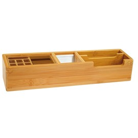 Köcher BAMBUS lang natur Holz Wedo 611007 Produktbild