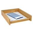 Briefkorb BAMBUS für A4 stapelbar natur Holz WEDO 61807 Produktbild