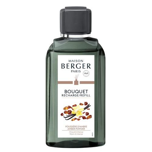 Parfum Berger Nachfüllflasche für Bouquet Parfumé Poussiére d'Ambre 200ml 6036 (FL=0,2 LITER) Produktbild Front View L