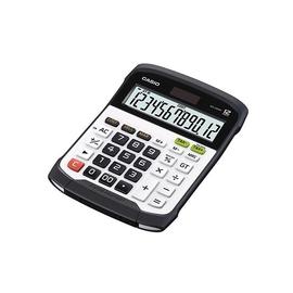 Tischrechner 12-stelliges LC-Display 36,5x114,5x194,5mm Solar-/ Batteriebetrieb Casio WD-320MT Produktbild