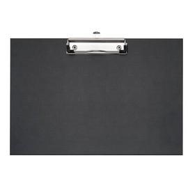 Klemmbrett A4 quer Klemme auf der langen Seite schwarz PP Veloflex 4817980 Produktbild