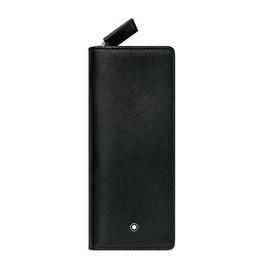 Etui Sartorial für 2 Schreibgeräte schwarz Leder Montblanc 113236 Produktbild