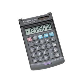 Taschenrechner 8-stelliges Display 73x119,5x11,5mm Solar-/Batteriebetrieb mit Klappdeckel Canon LS-39 E Produktbild
