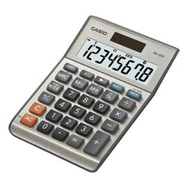 Tischrechner 8-stelliges LC-Display 28,8x103x147mm Solar-/Batteriebetrieb Casio MS-80 B Produktbild