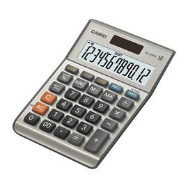Tischrechner 12-stelliges LC-Display 28,8x103x147mm Solar-/Batterierbetrieb Casio MS-120 BM Produktbild