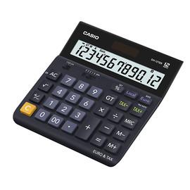 Tischrechner 12-stelliges LC-Display 32x151x158mm Solar-/Batteriebetrieb Casio DH-12 TER Produktbild
