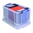 Aufbewahrungsbox mit Deckel 61x31,5x40,2cm 48Liter transparent Really Useful 48C Produktbild