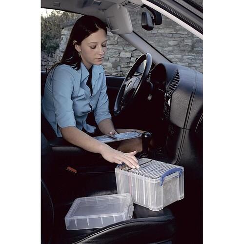 Aufbewahrungsbox mit Deckel 61x31,5x40,2cm 48Liter transparent Really Useful 48C Produktbild Additional View 2 L