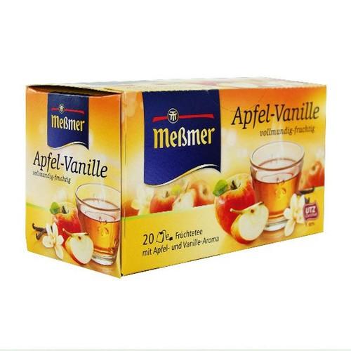 Apfel-Vanille Tee Meßmer 883079 (PACK=20 BEUTEL) Produktbild Additional View 1 L