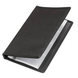 Visitenkartenringbuch Office 145x225mm 4Ringe 10Hüllen schwarz Veloflex 4152880 Produktbild
