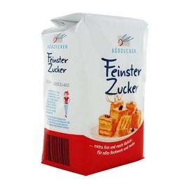 Zucker Raffinade feine Körnung Südzucker (PACK=1000 GRAMM) Produktbild