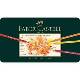Künstlerfarbstifte POLYCHROMOS Metalletui sortiert Faber Castell 110011 (ETUI=120 STÜCK) Produktbild