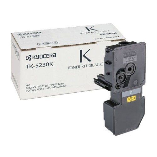 Toner TK-5230K für M-5521CDN/M-5521CDW/ 2600 Seiten schwarz Kyocera 1T02R90NL0 Produktbild Front View L