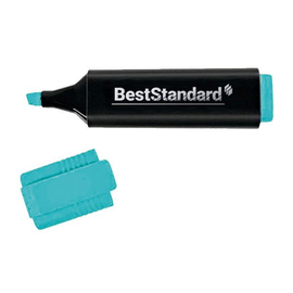 Textmarker 2-5mm Keilspitze blau BestStandard 3397 Produktbild