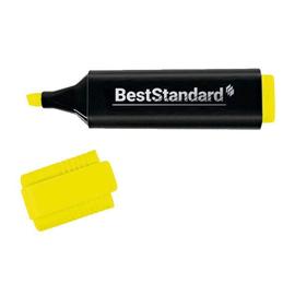 Textmarker 2-5mm Keilspitze gelb BestStandard 3393 Produktbild