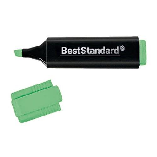Textmarker 2-5mm Keilspitze grün BestStandard 3394 Produktbild Front View L
