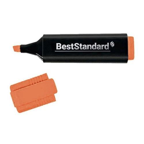 Textmarker 2-5mm Keilspitze orange BestStandard 3396 Produktbild Front View L