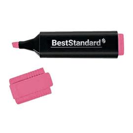 Textmarker 2-5mm Keilspitze rosa BestStandard 3395 Produktbild