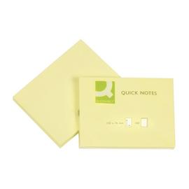 Haftnotizen 76x102mm gelb Papier BestStandard KF10410 (ST=100 BLATT) Produktbild