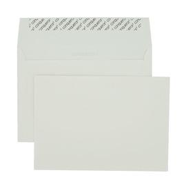 Briefumschlag Conqueror gerippt ohne Fenster C5 162x229mm mit Haftklebung hadernhaltig 120g weiß (PACK=250 STÜCK) Produktbild