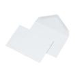 Briefumschlag ohne Fenster C6 114x162mm mit spitzer Klappe 75g blau nassklebend (PACK=1000 STÜCK) Produktbild Additional View 1 S