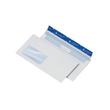 Briefumschlag mit Fenster DIN lang 110x220mm 90g mit Haftklebung Laser- bedruckbar (PACK=250 STÜCK) Produktbild Additional View 1 S