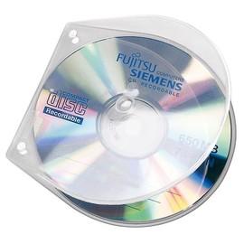 CD/DVD Hülle VELOBOX 125x125x4mm unzerbrechlich transparent PP Veloflex 4365000 (PACK=10 STÜCK) Produktbild