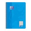 Collegeblock Oxford Touch B5 kariert 80Blatt 90g Optik Paper weiß meerblau 400086488 Produktbild