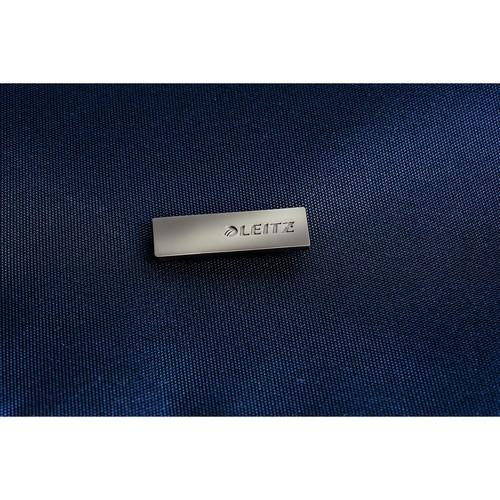 "Laptoprucksack Complete 15.6"" 31x46x20cm titanblau Leitz 6017-00-69 Produktbild Back View L"