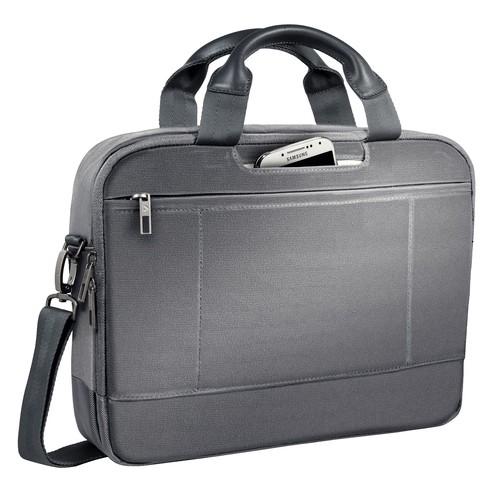 """Laptoptasche Complete 13,3"""" 38,5x8x28cm silbergrau Leitz 6039-00-84 Produktbild Additional View 1 L"""