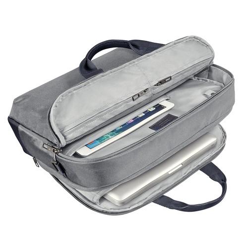"""Laptoptasche Complete 13,3"""" 38,5x8x28cm silbergrau Leitz 6039-00-84 Produktbild Additional View 2 L"""