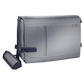 "Laptoptasche Complete 15,6"" 39x29x15,5cmcm silbergrau Leitz 6019-00-84 Produktbild"