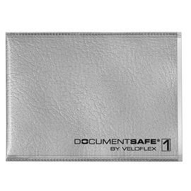 Schutzhüllen DOCUMENTSAFE für 1 Karte 90x63mm silbergrau Veloflex 3271800 Produktbild