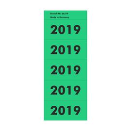 Jahreszahlenaufkleber 2019 grün selbstklebend 06219 (PACK=100 STÜCK) Produktbild