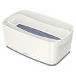 Aufbewahrungsbox MyBox mit Deckel für A5 318x128x191mm 5Liter weiß/grau Kunststoff Leitz 5229-10-01 Produktbild Additional View 2 S