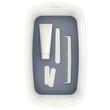 Aufbewahrungsbox MyBox mit Deckel für A5 318x128x191mm 5Liter weiß/grau Kunststoff Leitz 5229-10-01 Produktbild Additional View 3 S
