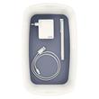Aufbewahrungsbox MyBox mit Deckel für A5 318x128x191mm 5Liter weiß/grau Kunststoff Leitz 5229-10-01 Produktbild Additional View 4 S