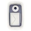 Aufbewahrungsbox MyBox mit Deckel für A5 318x128x191mm 5Liter weiß/grau Kunststoff Leitz 5229-10-01 Produktbild Additional View 5 S