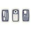 Aufbewahrungsbox MyBox mit Deckel für A5 318x128x191mm 5Liter weiß/grau Kunststoff Leitz 5229-10-01 Produktbild Additional View 7 S