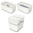 Aufbewahrungsbox MyBox mit Deckel für A5 318x128x191mm 5Liter weiß/grau Kunststoff Leitz 5229-10-01 Produktbild Additional View 8 S