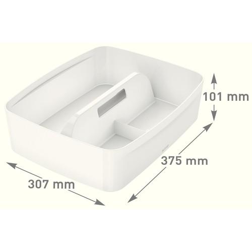 Organizer für MyBox groß 307x101x375mm weiß Leitz 5322-00-01 Produktbild Additional View 3 L