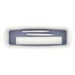 Aufbewahrungsschale MyBox 307x55x105mm weiß/grau Leitz 5258-10-01 Produktbild Additional View 1 S