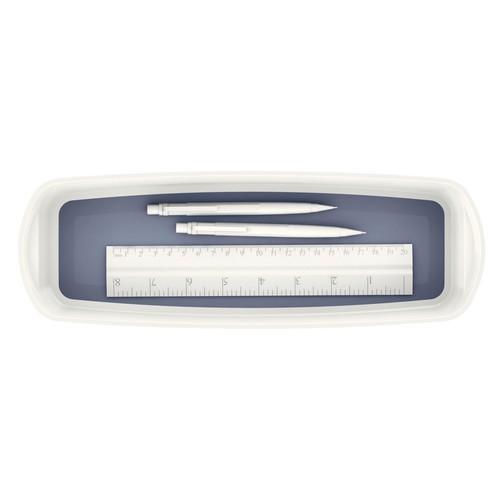 Aufbewahrungsschale MyBox 307x55x105mm weiß/grau Leitz 5258-10-01 Produktbild Additional View 1 L