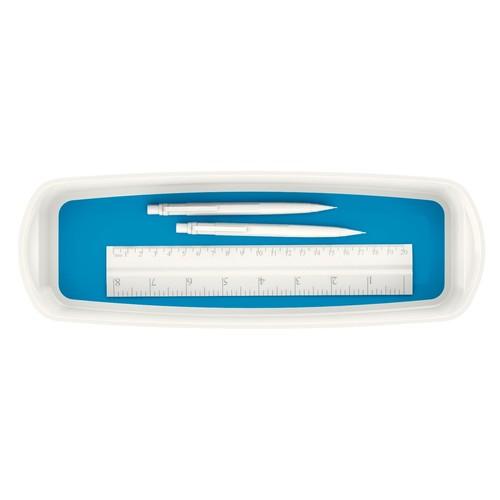 Aufbewahrungsschale MyBox 307x55x105mm weiß/blau Leitz 5258-10-36 Produktbild Additional View 1 L