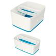 Aufbewahrungsschale MyBox 307x55x105mm weiß/blau Leitz 5258-10-36 Produktbild Additional View 2 S