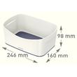 Aufbewahrungsschale MyBox 246x98x160mm weiß/grau Leitz 5257-10-01 Produktbild Additional View 7 S