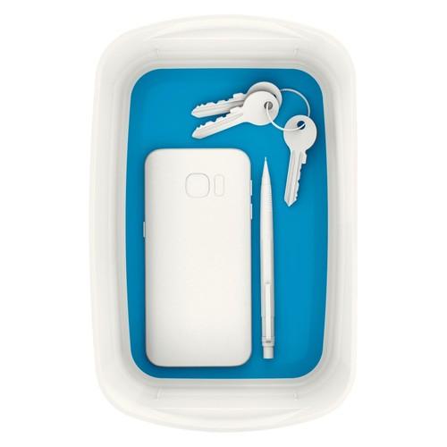 Aufbewahrungsschale MyBox 246x98x160mm weiß/blau Leitz 5257-10-36 Produktbild Additional View 2 L