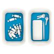 Aufbewahrungsschale MyBox 246x98x160mm weiß/blau Leitz 5257-10-36 Produktbild Additional View 6 S