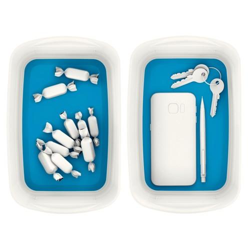 Aufbewahrungsschale MyBox 246x98x160mm weiß/blau Leitz 5257-10-36 Produktbild Additional View 6 L